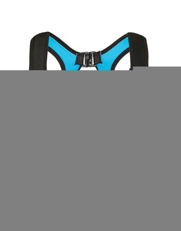 biustonosz sportowy Fly Bra - Deep Water niebieski