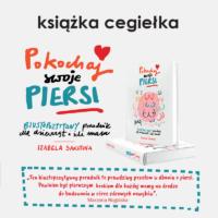"ksiazka cegielka 200x200 - Książka - cegiełka ""Pokochaj swoje piersi""!"