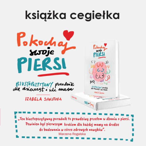 "ksiazka cegielka 600x600 - Książka - cegiełka ""Pokochaj swoje piersi""!"